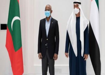بالتزامن مع قمة العلا.. بن زايد يستقبل رئيس المالديف