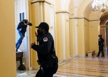 إصابة شخصين في إطلاق نار داخل الكونجرس مع اقتحام أنصار ترامب للمبنى