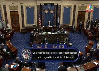 تصويت عقابي.. الكونجرس يرفض اعتراضات ترامب على فوز بايدن بأريزونا