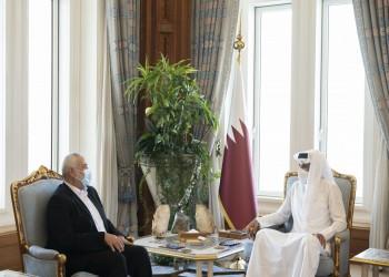 مع قرب الانتخابات الفلسطينية.. أمير قطر وهنية يبحثان آخر المستجدات