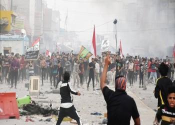 العراق.. مقتل شرطي وإصابة 5 متظاهرين في الناصرية