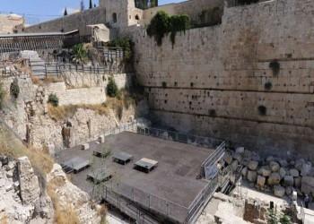 الأردن يجدد مطالبه بوقف إسرائيل حفرياتها بجوار ساحة البراق