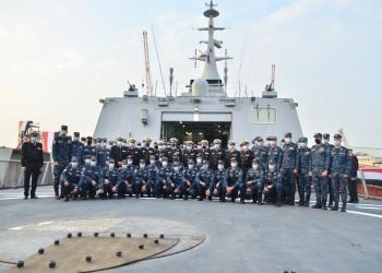 الجيش المصري يتسلم أول فرقاطة مصنعة محليا (صور)