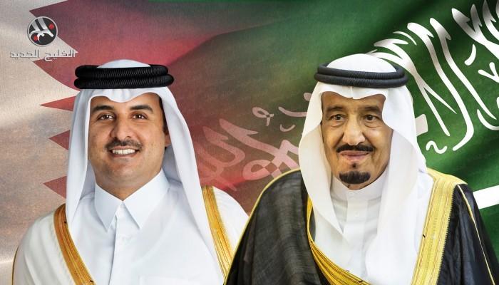 أمير قطر يبعث برقية تعزية للملك سلمان في وفاة ابن عمه