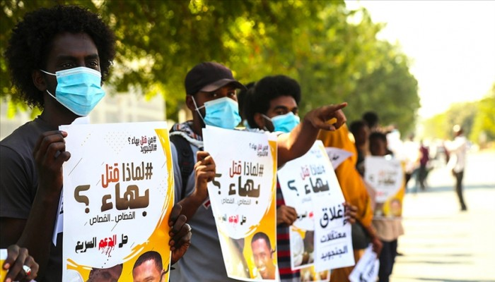 سودانيون يتظاهرون للمطالبة بإغلاق مقار قوات الدعم السريع