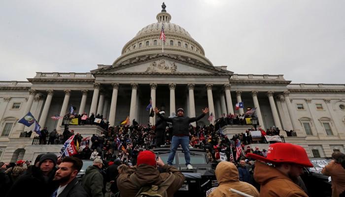 فتح 275 قضية جنائية في أحداث اقتحام الكونجرس