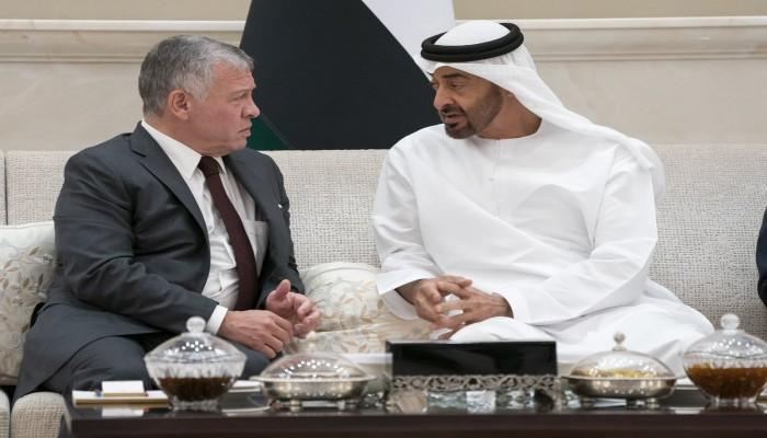 العاهل الأردني يزور الإمارات للقاء محمد بن زايد