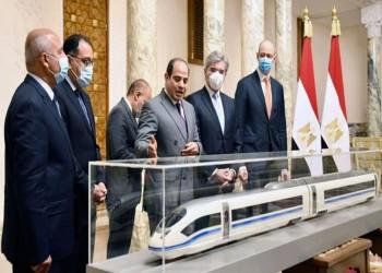 في 4 أشهر.. تكلفة قطار مصر السريع ارتفعت 19 مليار دولار