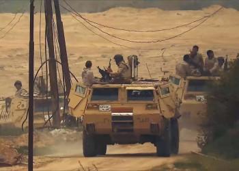 الهجمات تتصاعد.. مقتل ضابط مصري ومجند في تفجير عبوة ناسفة بسيناء
