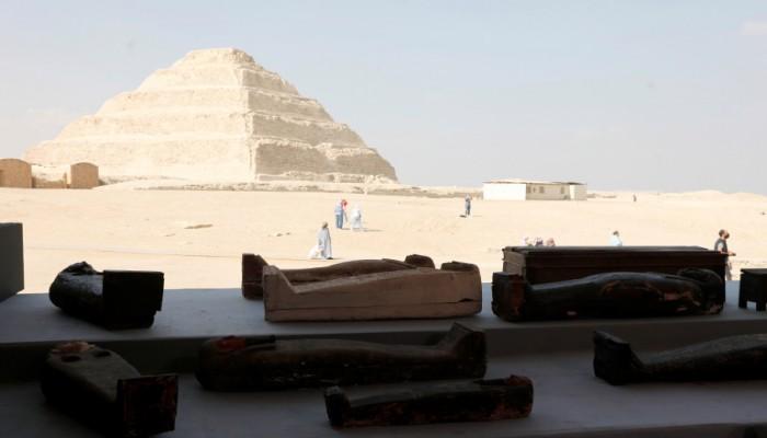 بينها معبد جنائزي فرعوني.. اكتشافات أثرية مهمة بسقارة المصرية