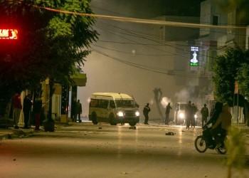 تونس.. احتجاجات ليلية عنيفة في عدة مدن بذكرى الثورة (فيديو وصور)