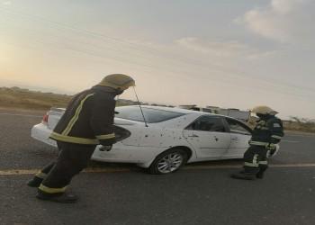 السعودية: 3 مصابين بسقوط مقذوف حوثي على قرية حدودية