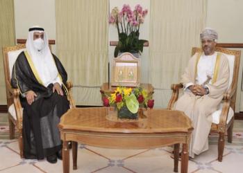 وزير خارجية عمان والحجرف يبحثان تعزيز العمل الخليجي المشترك