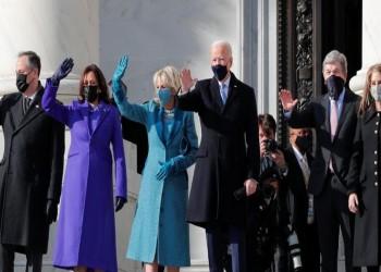 وسط إجراءات استثنائية.. بايدن يؤدي اليمين الدستورية رئيسا للولايات المتحدة