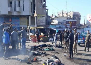 مجزرة دامية.. نحو 100 قتيل وجريح في تفجيريين انتحاريين وسط بغداد (صور)