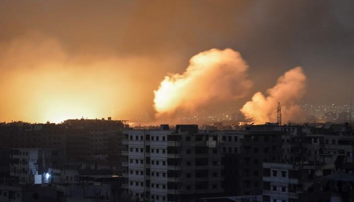 قوات الأسد تعلن التصدي لقصف إسرائيلي على حماة السورية