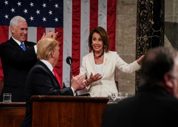 بيلوسي: لائحة مساءلة ترامب أمام مجلس الشيوخ الإثنين المقبل