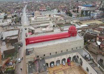 تمثال السيدة العذراء يتصدر أكبر كنائس العراق