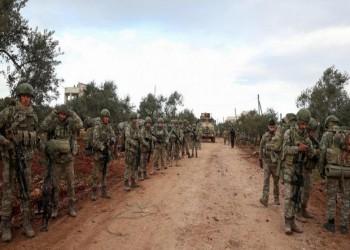 رتل عسكري ضخم للجيش التركي يصل إلى إدلب السورية