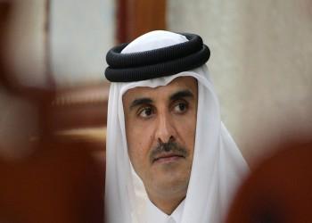 أمير قطر يرسل برقية تعزية للعاهل السعودي