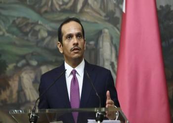 وزير خارجية قطر مهنئا نظيره الأمريكي: أتطلع للعمل معكم لتعزيز العلاقات الثنائية