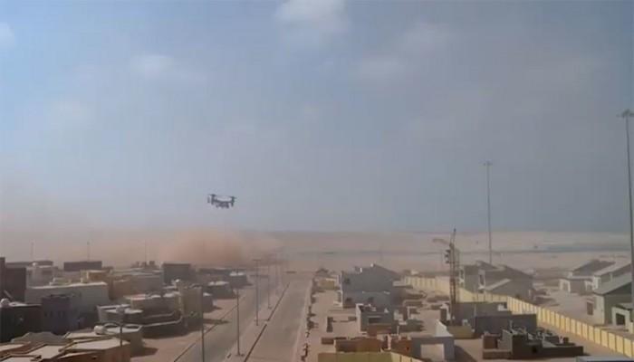 تدريبات عسكرية مشتركة بين قوات أمريكية وإماراتية (فيديو)