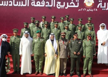 الكويت تحتفي بتخريج 16 ضابطا من الأكاديمية العسكرية القطرية