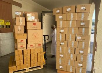 الدفعة الخامسة.. طائرة مساعدات عمانية جديدة للسودان