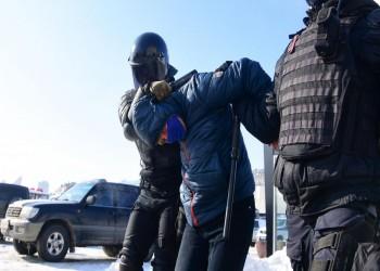 روسيا.. ارتفاع حصيلة الاعتقالات بمظاهرات أنصار نافالني لأكثر من ألفين