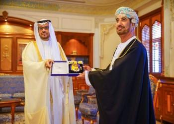 وسام من الدرجة الأولى لسفير السعودية بسلطنة عمان