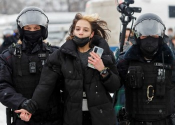 واشنطن تدين الوحشية ضد متظاهري روسيا.. وموسكو ترد بغضب