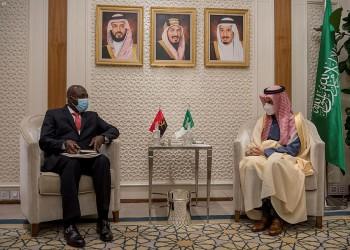 وزير الخارجية السعودي يلتقي نظيره الأنجولي بالرياض.. ماذا بحثا؟