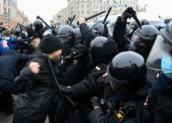 اعتقال أكثر من 4 آلاف روسي شاركوا بمظاهرات داعمة لنافالني