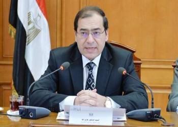 وزير مصري يبرر استيراد الغاز من إسرائيل: حفاظا عليه من الهدر