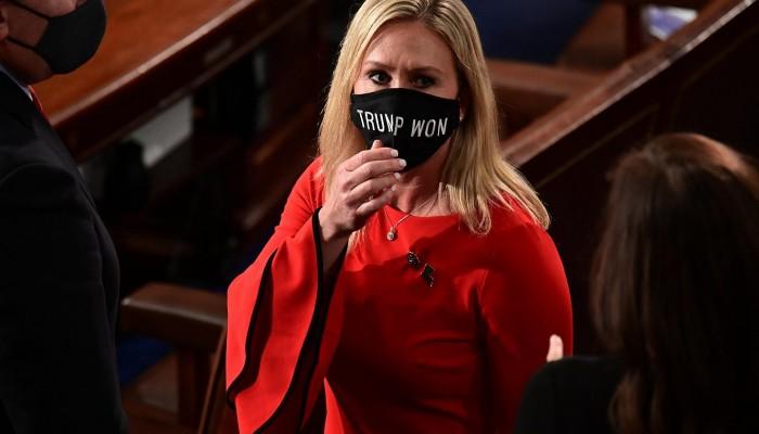 مجلس النواب الأمريكي يطرد نائبة جمهورية متشددة لدعمها نظريات تآمرية