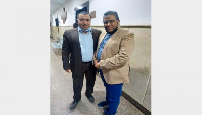 مراسلون بلا حدود: إطلاق سراح محمود حسين يظهر أن ذنبه الوحيد عمله بالجزيرة