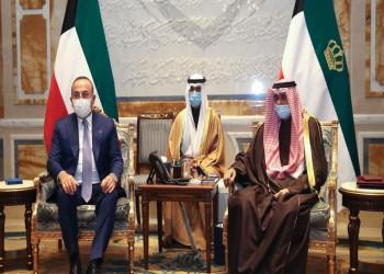 أمير الكويت يستقبل جاويش أوغلو في مستهل جولة خليجية تشمل قطر وعمان