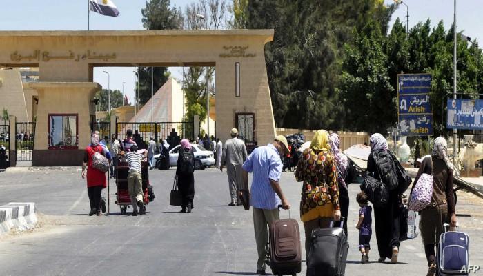 لأجل غير مسمى.. مصر تفتح معبر رفح مع غزة
