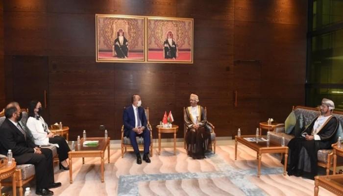 مباحثات تركية عمانية حول قضايا الخليج.. وجاويش أوغلو يعد بدعم مسقط