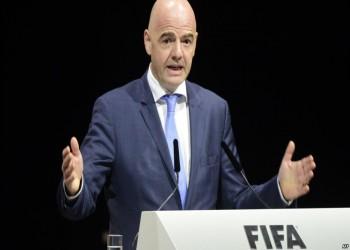 رئيس الوزراء القطري يستعرض مع إنفانتينو تطورات استضافة مونديال 2022