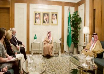 وزير الخارجية السعودي يبحث مع المبعوث الأمريكي لليمن الجهود المشتركة