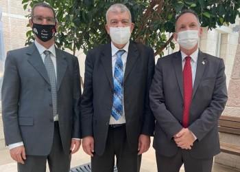 عشية وصوله.. رئيس مكتب الاتصال المغربي بإسرائيل يباشر مهامه