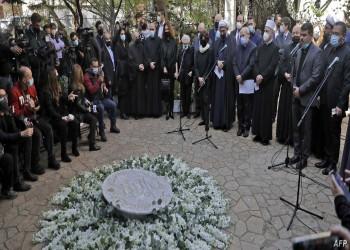 مراسم تشييع لقمان سليم.. سفراء يطالبون بتحقيق شفاف في حادث مقتله