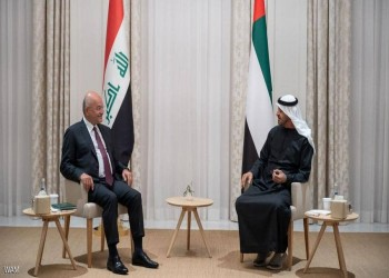 بعد السعودية ومصر.. الرئيس العراقي يلتقي بن زايد في الإمارات