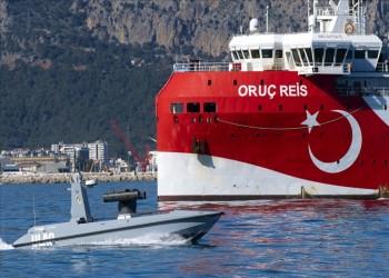 تركيا تبدأ تجربة زورق سيدا المسير المصنع محليا