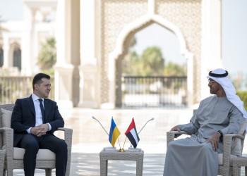 ولي عهد أبوظبي ورئيس أوكرانيا يبحثان العلاقات الثنائية