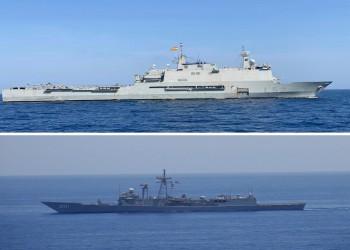 مصر وإسبانيا تنفذان تدريبا بحريا عابرا بالبحر الأحمر