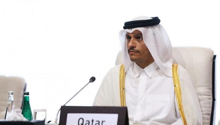 وزير الخارجية القطري يزور إيران الإثنين للقاء ظريف