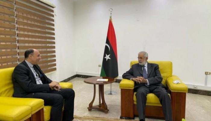 ليبيا.. وفد مصري يجري مباحثات بطرابلس لافتتاح السفارة وتفعيل العلاقات