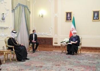 الرئيس الإيراني يتسلم رسالة من أمير قطر